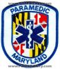 Maryland_State_Paramedic_EMS_Patch_Maryland_Patches_MDEr.jpg