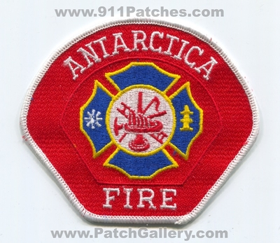 Antarctica Fire Department Patch (Antarctica)