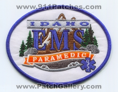 Idaho State Emergency Medical Services EMS Paramedic Patch (Idaho)