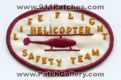 LifeFlight Helicopter Safety Team Patch (Nebraska)