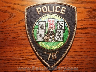 Deadwood Police Department Patch (South Dakota)
